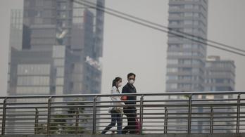 Olyan súlyos a légszennyezettség, hogy a maszkok is elfogytak Bangkokban