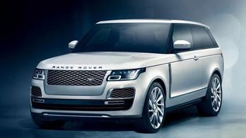 Hiába várjuk a háromajtós Range Rovert