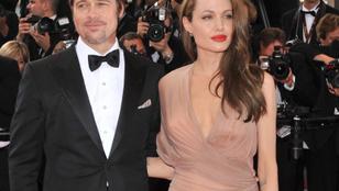 Évek óta most először sikerült lefotózni Angelina Jolie-t és Brad Pittet együtt