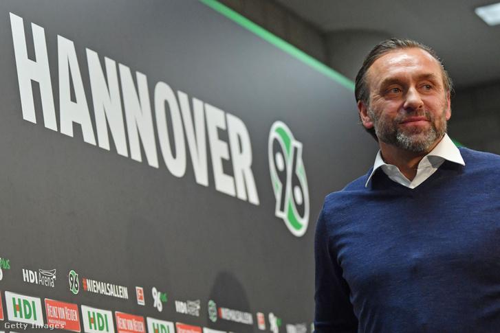 Thomas Doll, a Hannover 96 edzője 2019. január 28-án