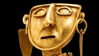 Hárommilliárd forintnyi inka aranyat fognak kiállítani Budapesten