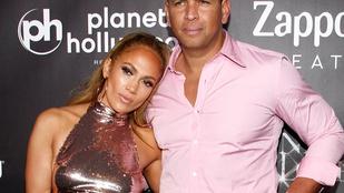 Jennifer Lopez és a pasija óriási zabálással ünnepelték a diétájuk végét