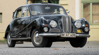 Veterán: BMW 501 V8 taxi – 1955.