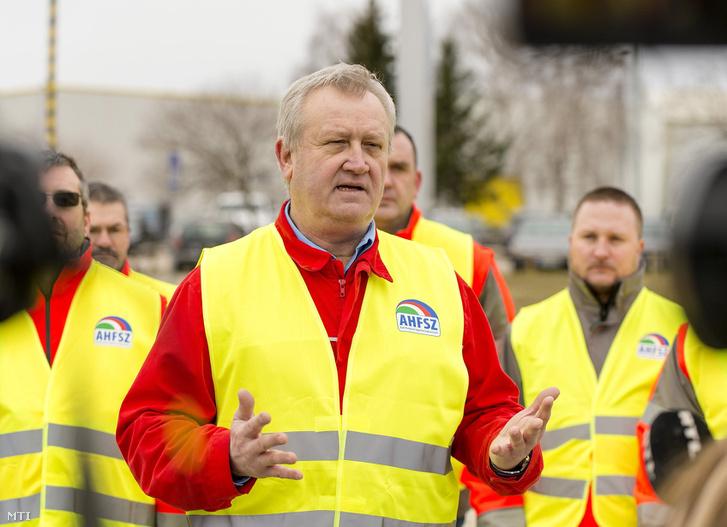 Németh Sándor az Audi Hungária Független Szakszervezet elnöke