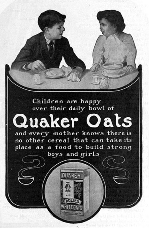 393px-Quaker Oats advertisement 1905