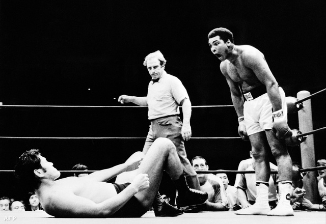 Egy 1976-os tokiói boxbemutatón