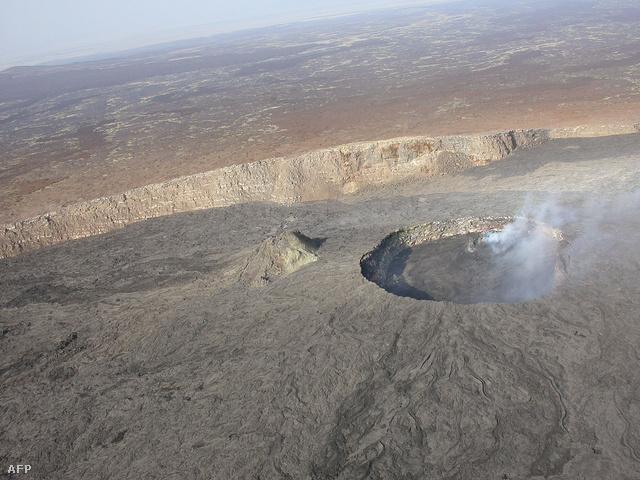 Az  Erta Ale vulkán