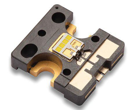 Az Osram Ostar led chip modulja. Ez a fényforrás a lámpákban.