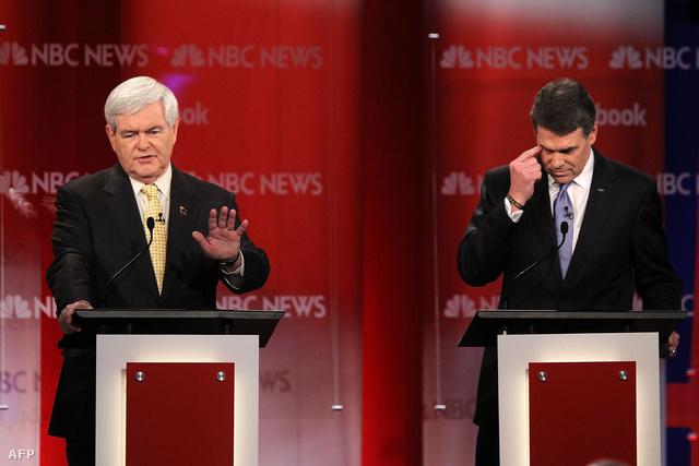 Newt Gingrich és Rick Perry