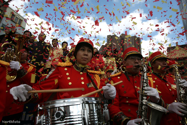 Kínai újévi ünnepség New Yorkban