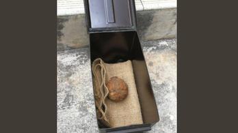Első világháborús gránátot találtak egy hongkongi krumpliszállítmányban