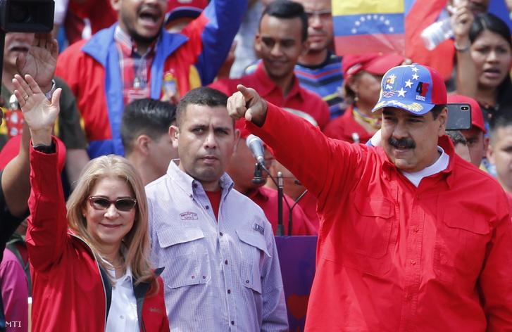 Nicolás Maduro hivatalban levő venezuelai elnök