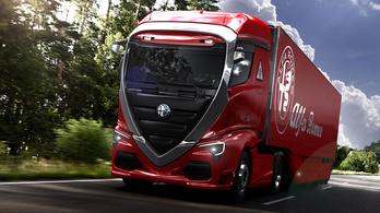 A szívünk megszakad, hogy semmi nem lesz ebből az Alfa-kamionból