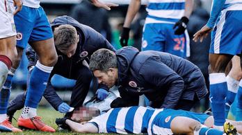 Teljes testsúlyával lépett fekvő ellenfele arcába Zlatan egykori merénylője