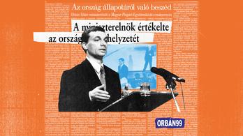 Nahát, ezeket Orbán mondta az első évértékelőjén
