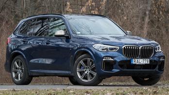 Teszt: BMW X5 M50d - 2019.