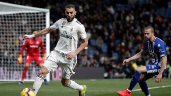 Benzema beindult, száguld a Real Madrid