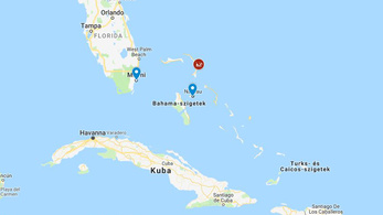 Elsüllyedt egy migránsokat csempésző hajó a Bahamáknál
