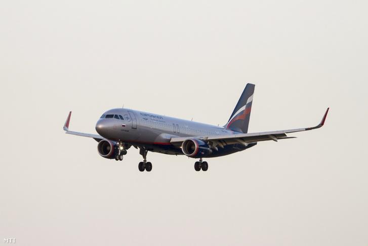 Az Aeroflot légitársaság, Airbus A320-214 típusú utasszállító repülőgépe