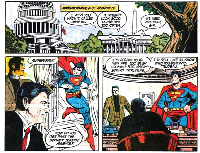 Adventures of Superman Annual #1 - Jim Starlin & Dan Jurgens
