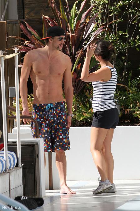 Michael Phelps Floridában lazít állítólagos új barátnőjével