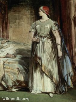 Lady Macbeth Cattermole