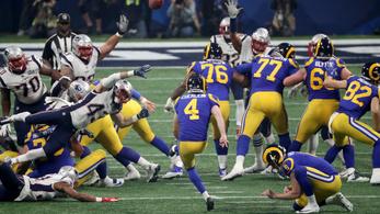 Rettentő szomorú, amivel a Rams próbálkozott a Super Bowl végén