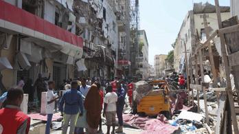 Hatalmas robbanás rázta meg Mogadishut