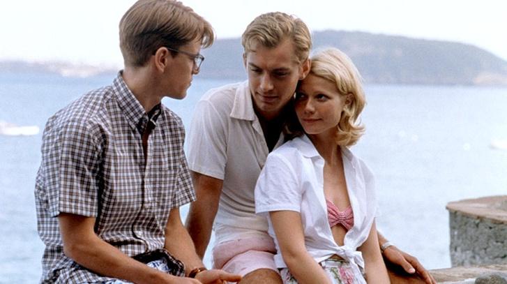 Matt Damon, Jude Law és Gwyneth Paltrow (A tehetséges Mr. Ripley - 1999)