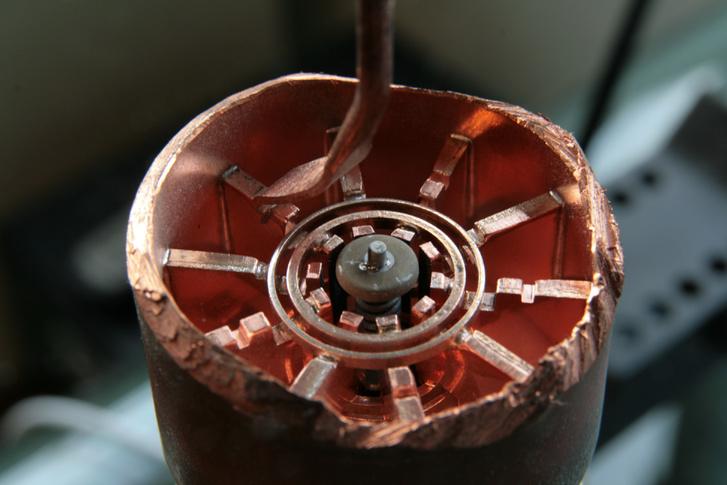 Egy magnetron belseje