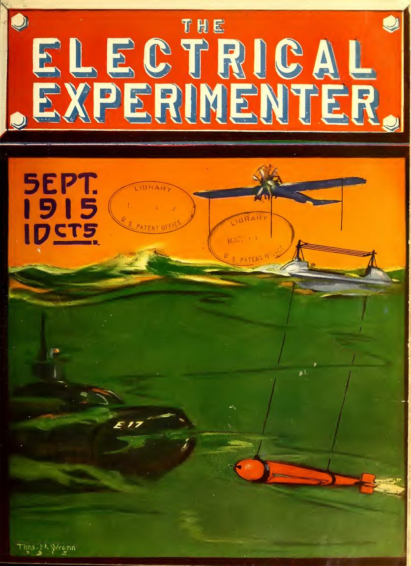 1915. szeptember: repülőgépről rádióvezérelt tengeri torpedódrón, a tengeralattjárók elleni küzdelem újabb fantasztikus fegyvere.