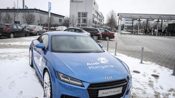 A győri sztrájk miatt több mint 10 ezer autó nem készült el az Audinál