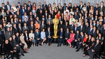 Összeálltak egy csoportképre az idei Oscar-jelöltek