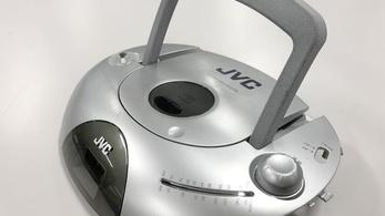 3d nyomtatással gyártott kazettás magnót a JVC
