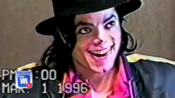 Michael Jacksont videón szembesítették a pedofília vádjával