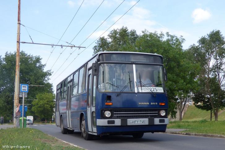 Ikarus 263 Budapesten