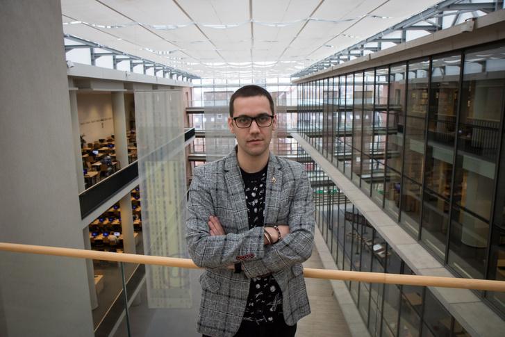 Gajdács Márió, Talent-ösztöndíjas PHD-hallgató