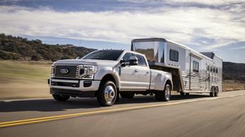 Hát ezért jár egész Amerika teherautókkal