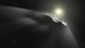 Egy szétesett üstökös maradványa lehet a rejtélyes Oumuamua