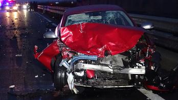 Halálos baleset történt az M5-ösön Kiskunfélegyházánál