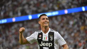 Ronaldo 18 biciklit kapott ajándékba a Juventustól a születésnapjára