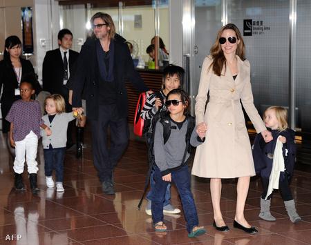 Fánk úr és családja novemberben