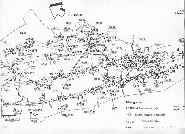 A Budai Vár üregrendszere és labirintusa (Forrás: BME)