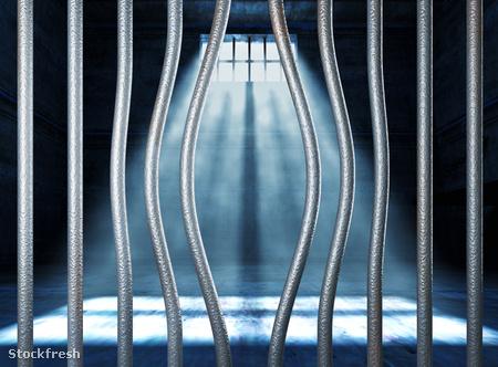 stockfresh 1085268 prison-3d-and-bended-metal-bar sizeM