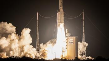Felküldte idei első két műholdját az Arianespace
