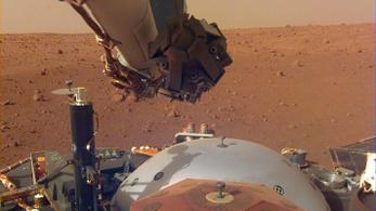 Újabb mérföldkőhöz érkezett az InSight Mars-szonda