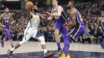 42 ponttal alázták a Lakerst, bár LeBron is játszott