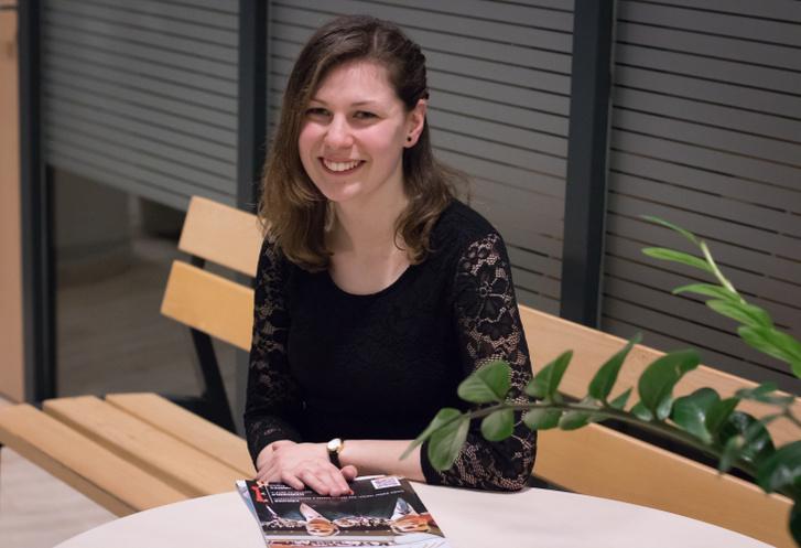 Ujvári Rebeka, elsőéves kémia szakos SZTE Start ösztöndíjas hallgató
