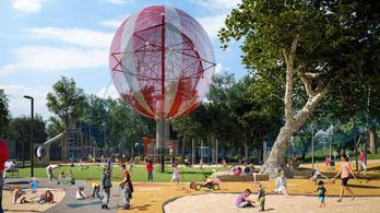 Óriási játszótér épül a Városligetben