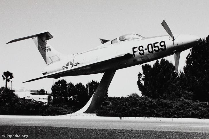 Az XF-84H az ohiói Bakersfield légibázisán